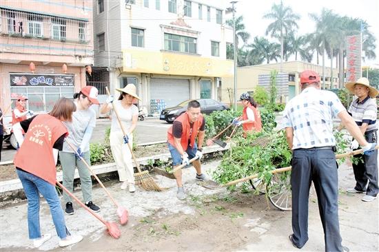 开展农村人居环境整治以来,村容村貌焕然一新。