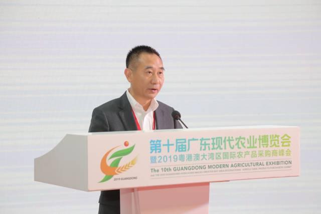 江门市农业农村局局长郑少强