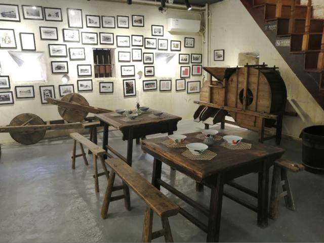大塘艺术驿站内的碉楼被改造成华侨民俗博物馆