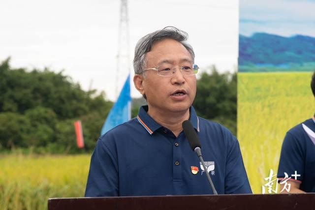 广东省农业农村厅一级巡视员牛宝俊致辞
